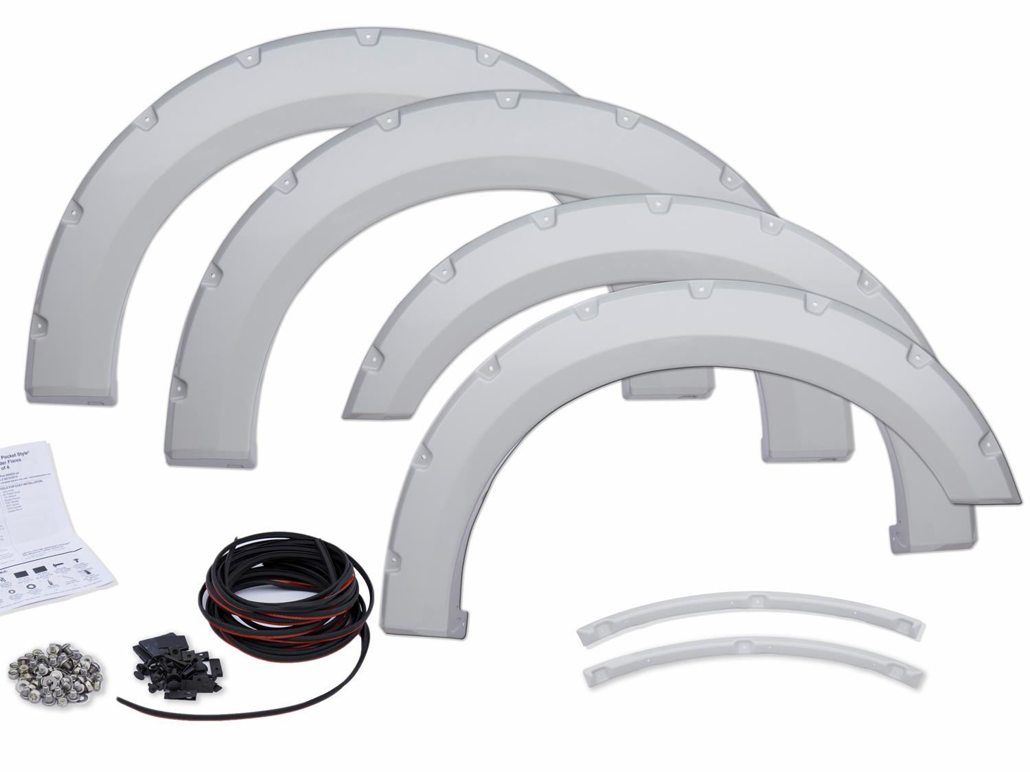 Fender Flares - Paintable, Unassembled Kit