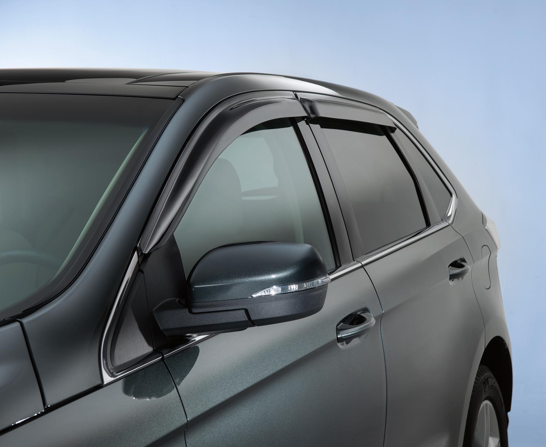 Side Window Deflectors - Smoke