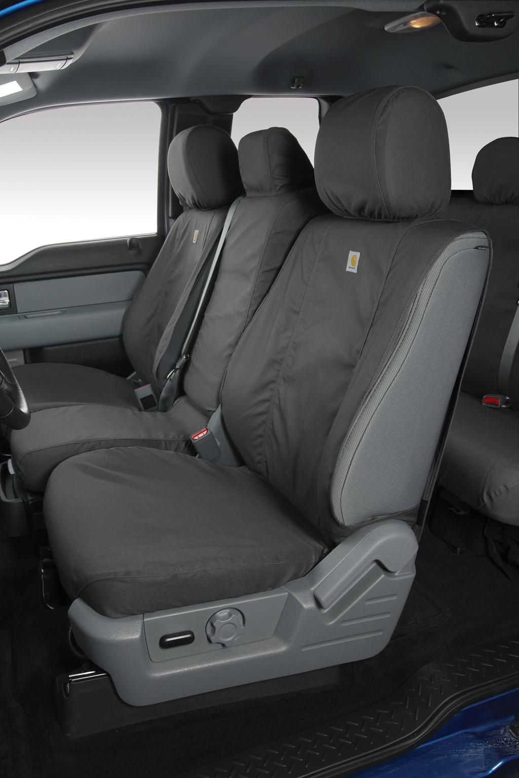 Seat Covers -Captains Chair Charcoal