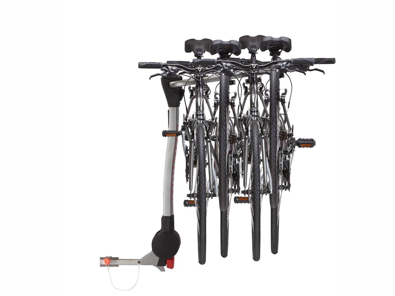 Hitch Mounted Bike Rack, 4 Bike