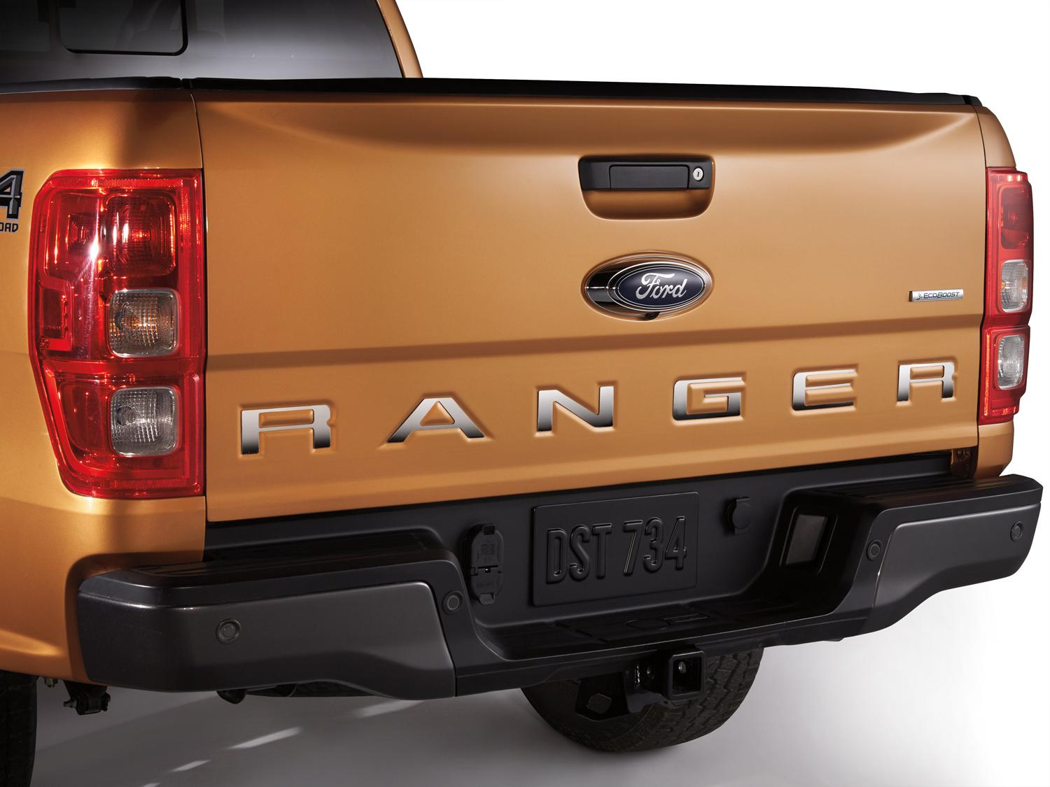 Tailgate Lettering - Polished Stainless Steel