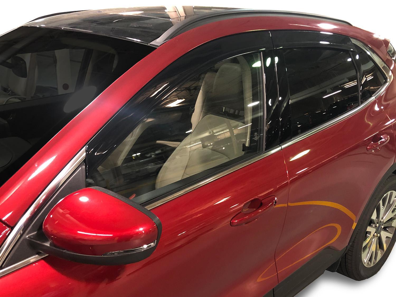 Side Window Deflectors - Low Profile