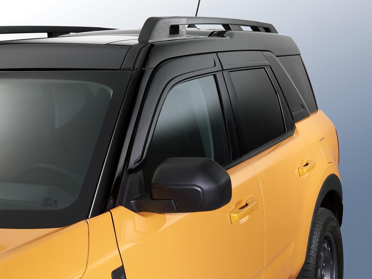 Side Window Deflectors - Low Profile,