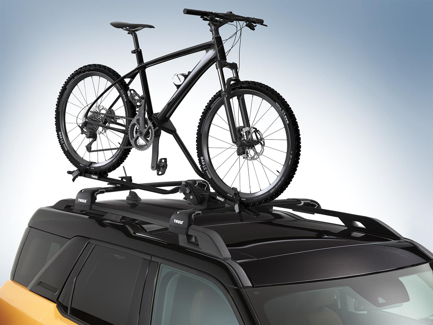 Bike Carrier, Upright, Roof Mounted