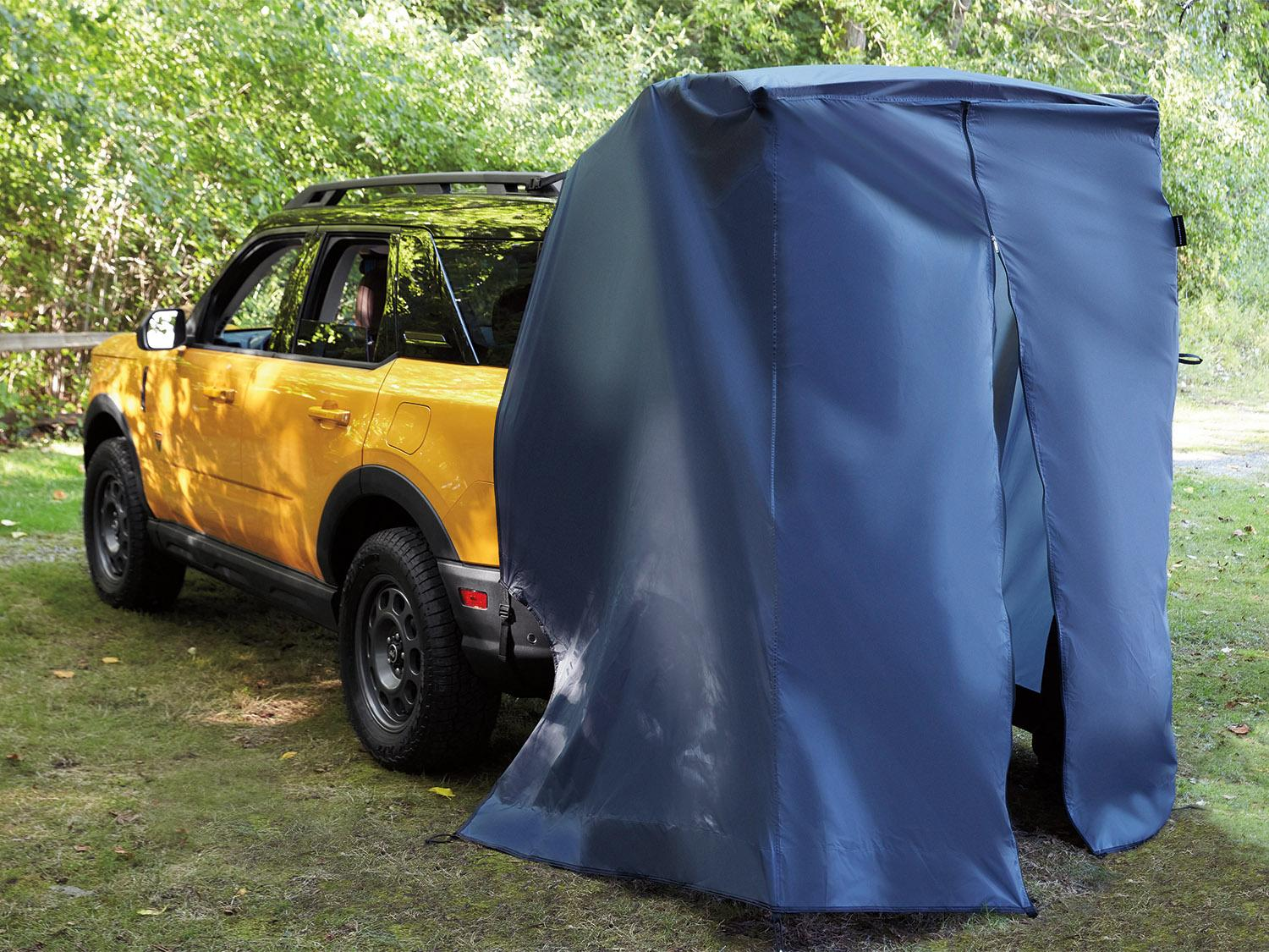 Tents - Liftgate Privacy Curtain