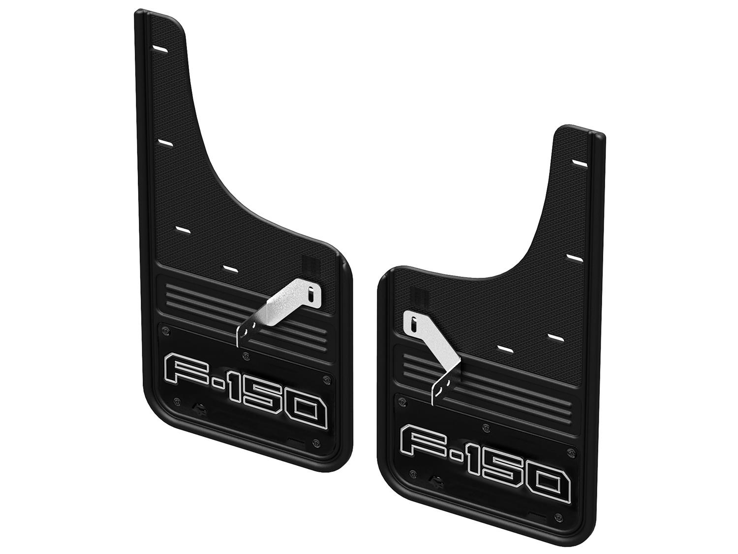 Splash Guards - Gatorback, Front Pair, with F-150